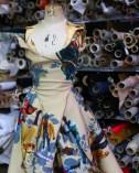 Thandie Newton's action figure gown - Construction