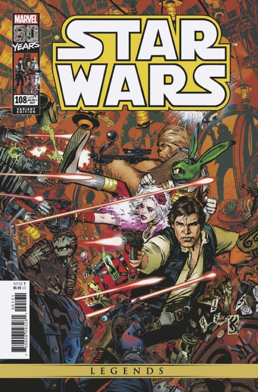 Star Wars #108 (Golden variant)