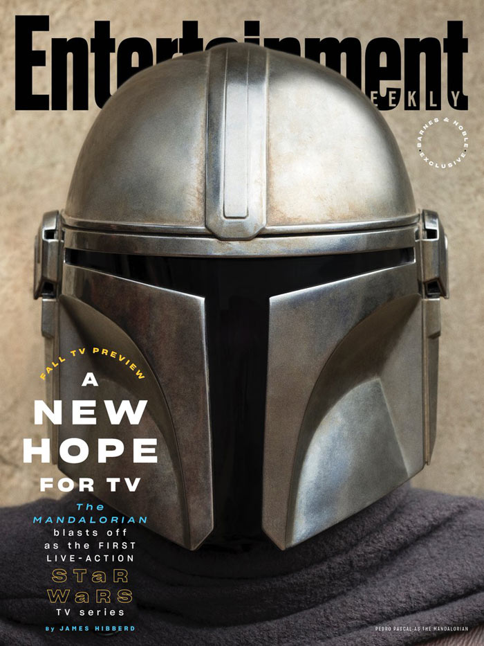 The Mandalorian (EW cover)