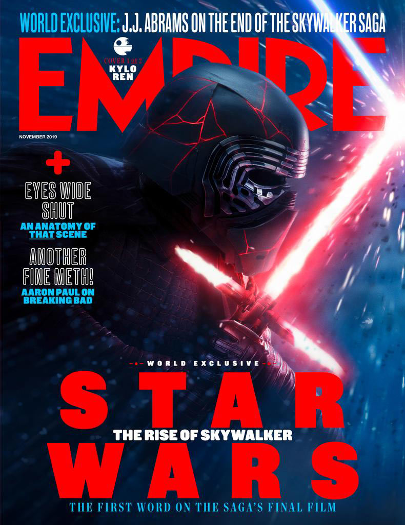 Empire newsstand cover (November 2019)