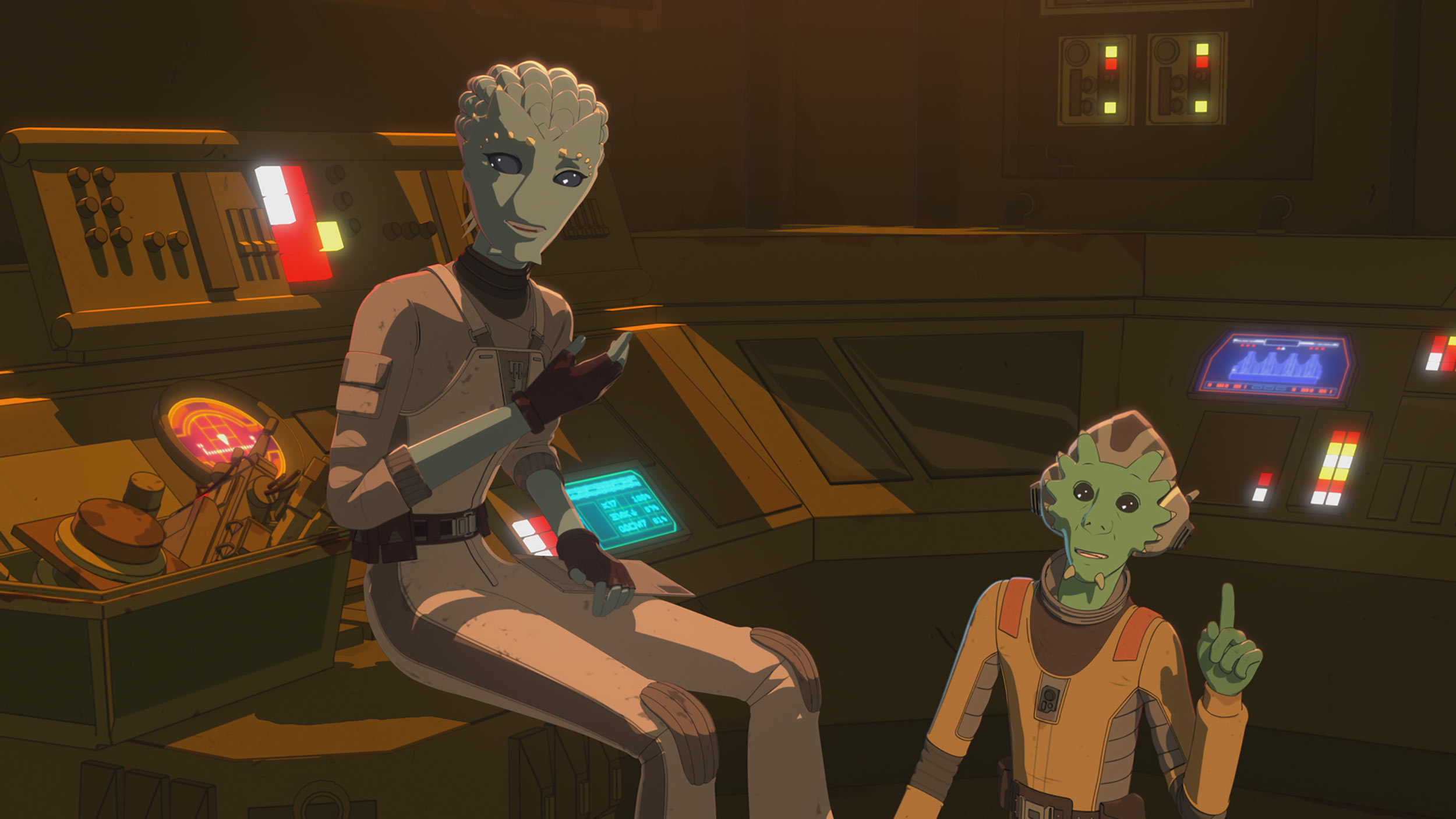 Star Wars Resistance | S2E05 | 'The Engineer'