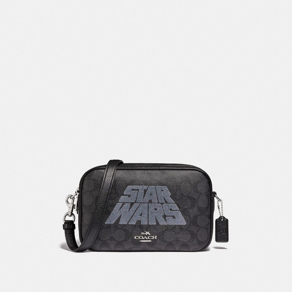 Star Wars X Coach Jes Crossbody In Signature Canvas With Motif