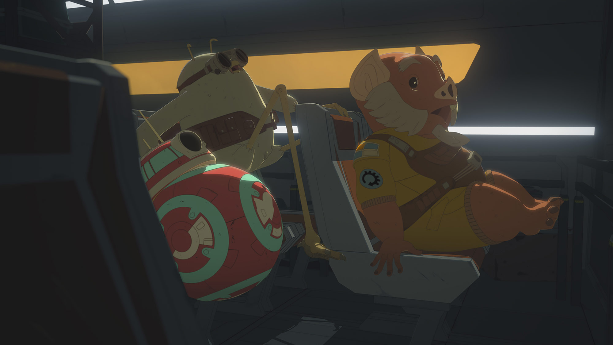 Star Wars Resistance | S2E06 | 'From Beneath'