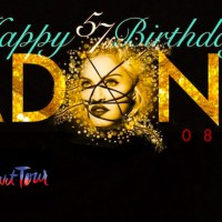 Happy 57th Birthday MADONNA!