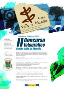 Cartel II Concurso Aceites Valle de Alcudia