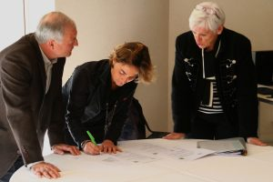 Signature de la présidente de la MGEN