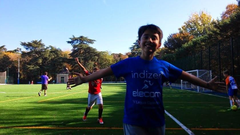 Fútbol y más en una tarde de ensueño