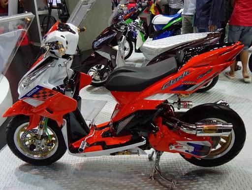 modifikasi motor  CMBS club motor bebas
