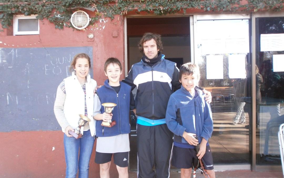 Tenis: Marcos Drabble y Asunción Veronesi campeones del 1° Provincial Promocional