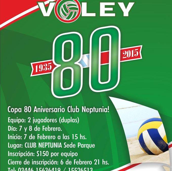 Beach Voley Masculino: Copa 80° Aniversario