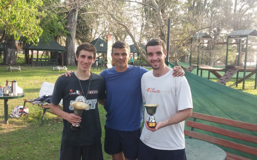 Tenis: Martinez, Gabas, Perez y Popelka campeones de la 5° del Abierto del Club Neptunia.
