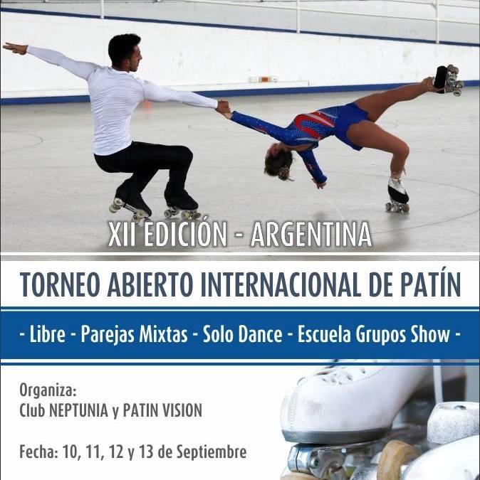 PATIN: 2° Torneo Internacional organizado por el Club Neptunia