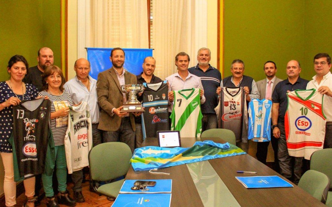 Basquet: Neptunia participará de la Copa Ciudad de Gualeguaychú.