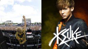 KSUKE / DJ アーティスト UltraMiam・Ultrajapan出演