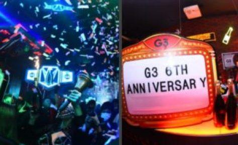 【大阪クラブ】G3大阪は大阪の人気のクラブ、ジラフ大阪の横にG2姉妹店として、クラブ「G3」がグランドオープン! ミナミの中心地から革新的なクラブカルチャーを発信!女性は毎日入場無料! オールミックスにワールドワイドな要素を取り込んだジャンルレスサウンド空間「G3」!