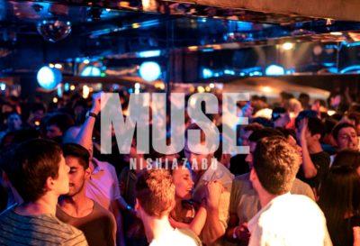 【六本木・西麻布クラブ】ミューズ六本木・西麻布は人気のクラブ、西麻布 MUSE | 六本木・西麻布クラブ ミューズ、毎週末、金曜日、土曜日、祝前日は1500人以上のお客様で賑わうクラブパーティーを開催