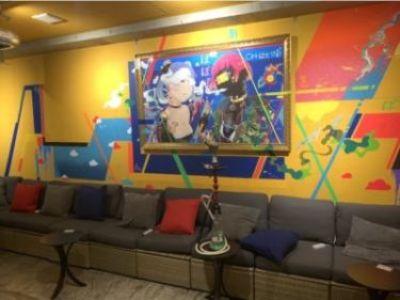 水タバコ/シーシャ「チルイン秋葉原店」開店。デジタルアートを多数常設展示したアキバ感あふれる店舗