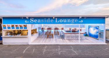 江ノ島 海の家 BBQ ‐シーサイドラウンジ ‐ SEASIDE LOUNGEの店内写真