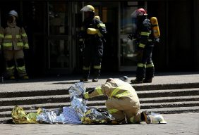 Image result for Three firefighters die trying to quench  Johannesburg's building blaze