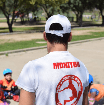 monitores formados patinaje