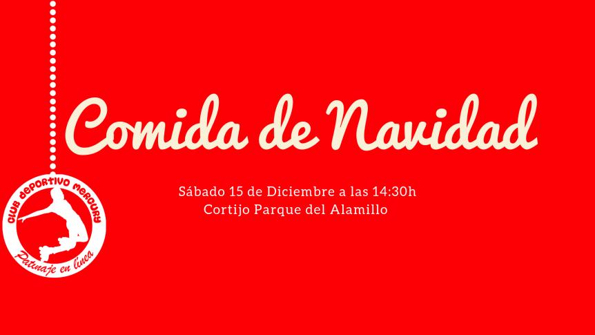 club mercury cena comida navidad parque del alamillo 2018 18 diciembre