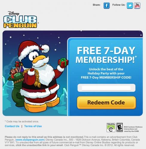 free 7 day memberships