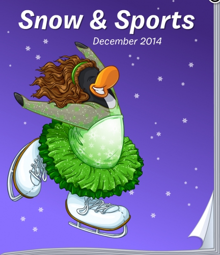 Club Penguin Snow & Sports December 2014 Catalogue