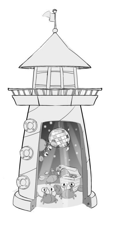CP Island: Lighthouse Interior Concepts