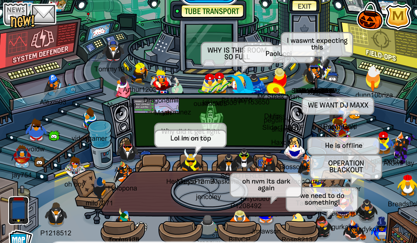 CP Rewritten Gary Kidnapped Club Penguin Mountains
