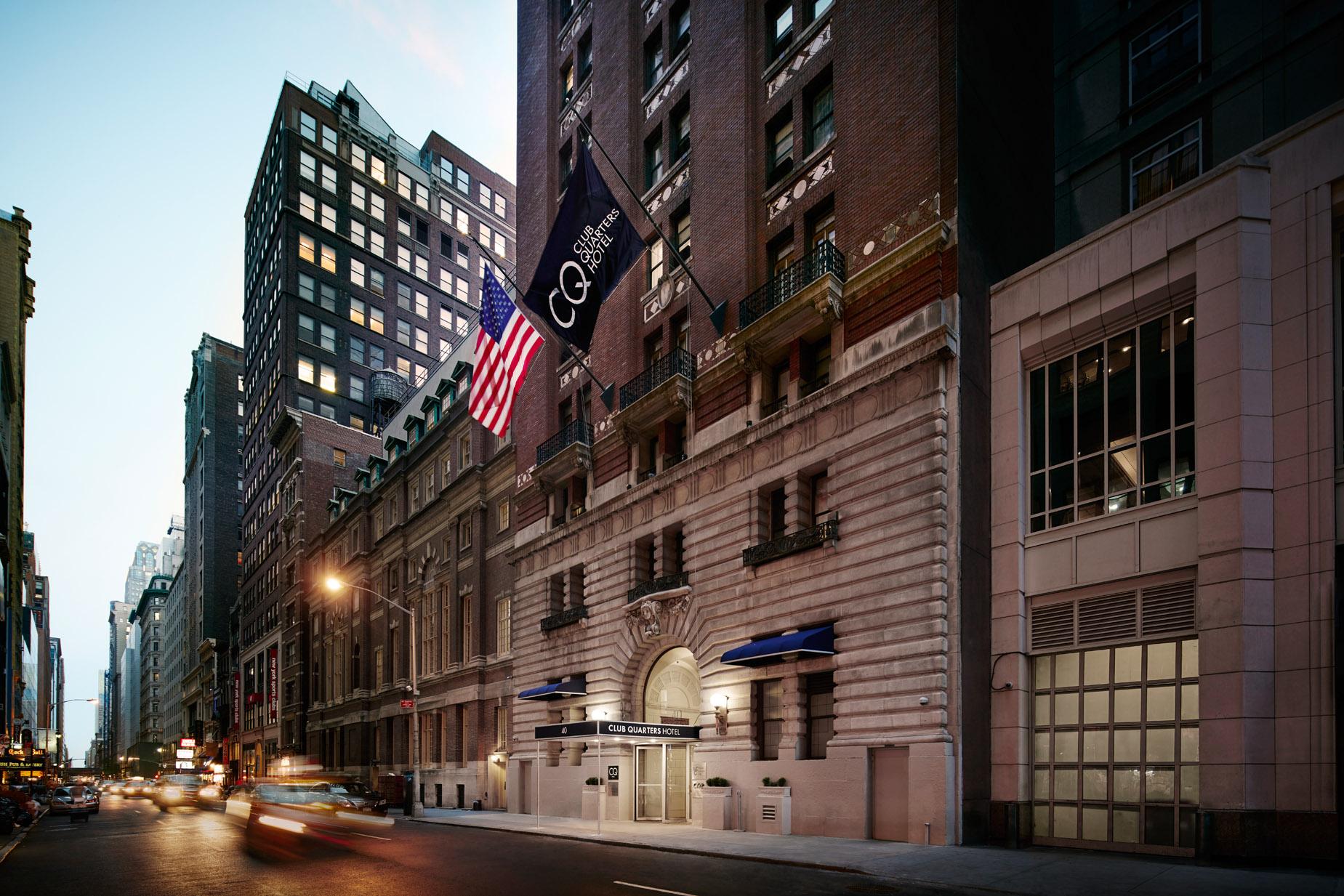 Club Quarters Hotel, Midtown  Manhattan Business Hotel, Nyc