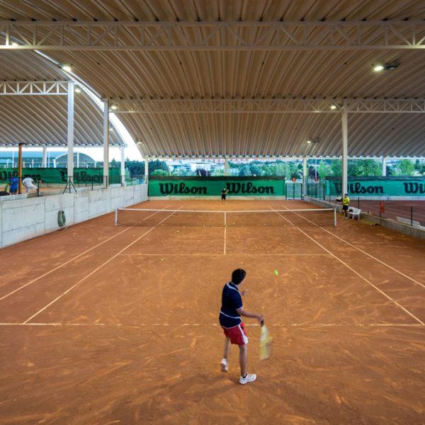 Pistas de tenis  Club Raqueta Valladolid