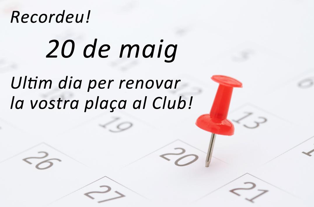 Renova La Teva Plaça!