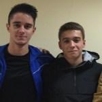 Cuatro juveniles participaron activamente en el entrenamiento con el Deportivo juvenil