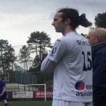 El juvenil Santi, contento con su debut en Tercera División