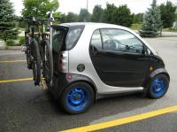 Smart Car With Roof Rack Bike Pictures to Pin on Pinterest