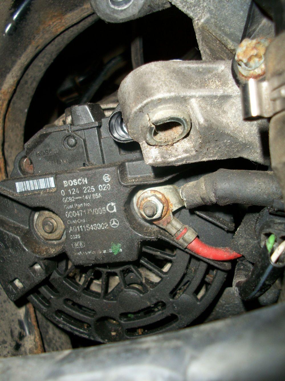 medium resolution of smart car alternator wiring diagram alternator removal operation and maintenance 450 model 2005