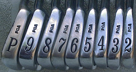 PGA Tommy Armour Silver Scot Irons 2PW