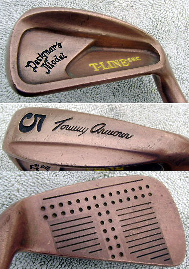 Tommy Armour TLine beryllium copper 39 graphite