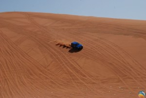 Rajd autem terenowym w Dubaju