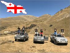 Wyprawa OFF-ROAD Jeep 4x4 po urokliwych bezdrożach GRUZJI