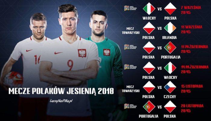 Bilety na mecze Reprezentacji Polski - Jesień 2018