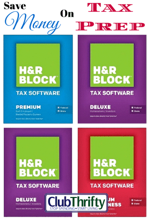 We love to save money...and that includes saving money on our taxes! We use H&R Block software to file our complex personal and business returns! Check it!