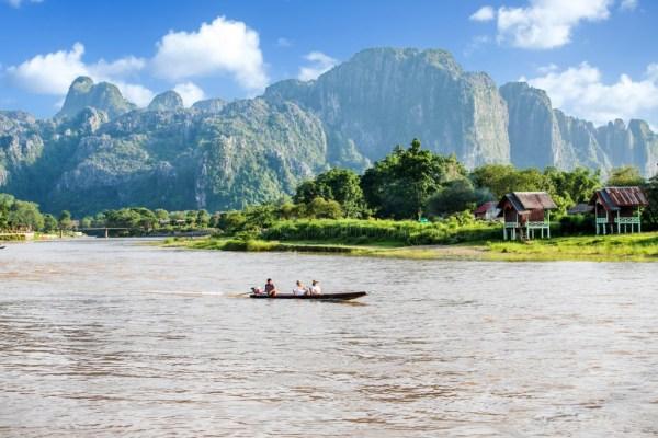 Cheap places to travel - Vang Vieng Laos
