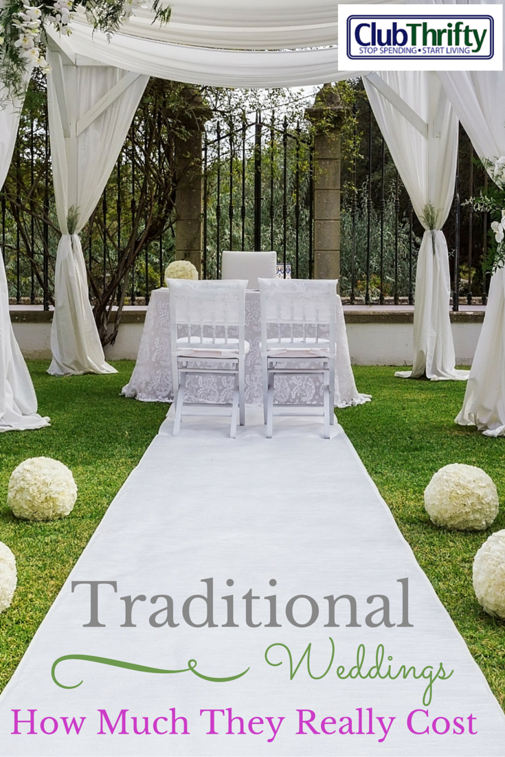 How much it really costs to throw a traditional wedding for How much will a wedding cost