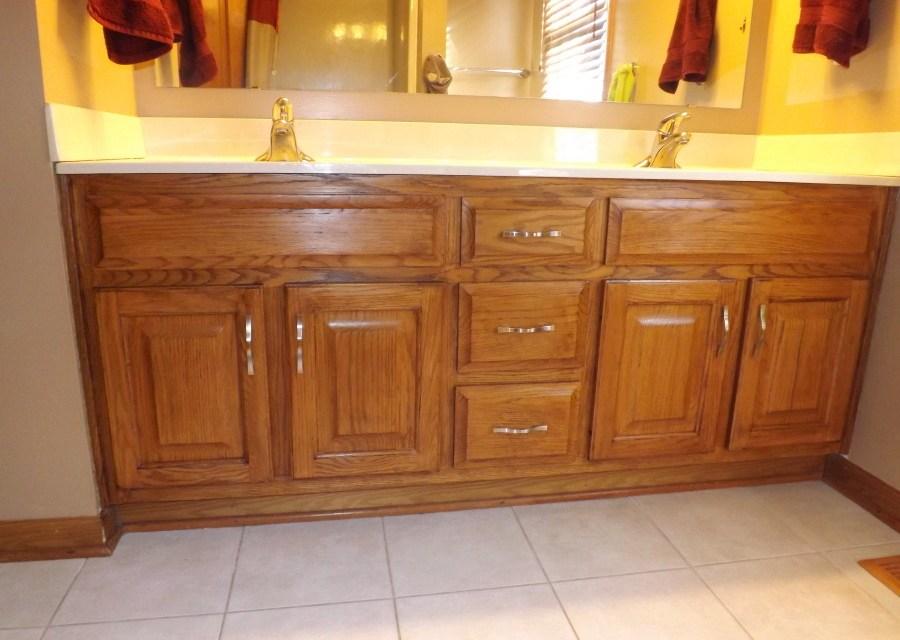 My Frugal Bathroom Cabinet Remodel Club Thrifty