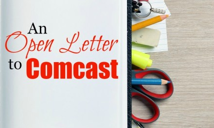 An Open Letter to Comcast