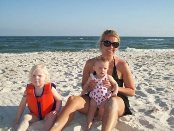 holly and kids