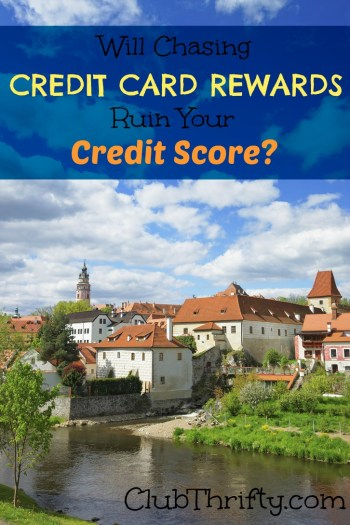 Does pursuing credit card rewards ruin your credit? Read this post for tips and tricks on boosting your credit score while pursuing rewards.