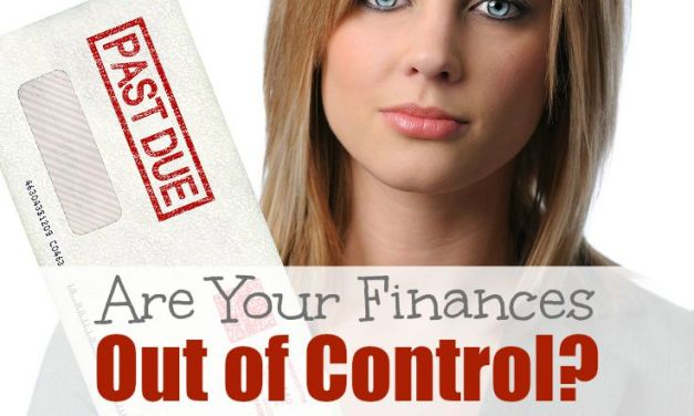Are Your Finances Out of Control?