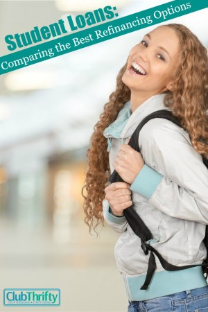 Student loan refinancing could save you thousands of dollars over the life of your loan. We compare some of the best student loan rates here!